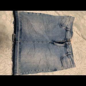 Custom made size 30 denim skirt